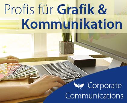 Corporate Communications - Profis für Grafik und Kommunikation