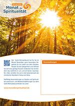 Plakat Herbstwald A3 als PDF (mit Textfeld)