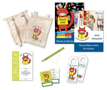 "Paket ""Büchereifuchs""-Schule"