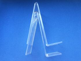 Buchständer für Ausstellungszwecke, Plexiglas, 18 cm