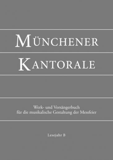 Münchener Kantorale: Lesejahr B, Werkbuch