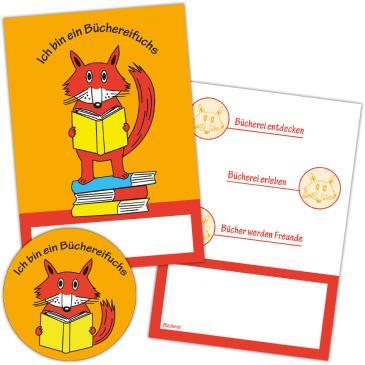 """Paket """"Büchereifuchs""""-Kindergarten"""
